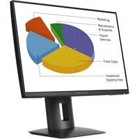 "HP Z24n 24"" LED LCD Monitor - 16:10 - 8 ms - Adjustable Display Angle - 1920 x 1200 - 16.7 Million Colors - 300 Nit - 5,000,000:1 - WUXGA - DVI - HDMI - DisplayPort - USB - 36 W - Black"