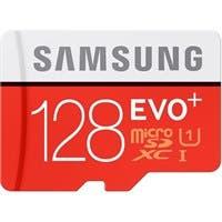 Samsung EVO+ 128 GB microSDXC - Class 10/UHS-I (U1) - 80 MB/s Read - 20 MB/s Write - 1 Card