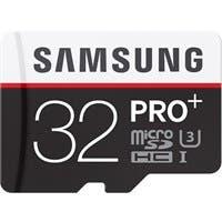 Samsung Pro+ MB-MD32DA 32 GB microSDHC - Class 10/UHS-I (U3) - 95 MB/s Read - 90 MB/s Write - 1 Card