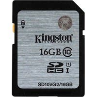 Kingston 16 GB SDHC - Class 10/UHS-I (U1) - 45 MB/s Read