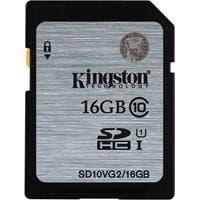 Kingston 16 GB SDHC - Class 10/UHS-I (U1) - 45 MB/s Read
