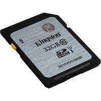Kingston 32 GB SDHC - Class 10/UHS-I - 45 MB/s Read - 10 MB/s Write1 Pack