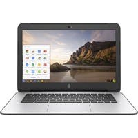 "HP Chromebook 14 G4 14"" Chromebook - Intel Celeron N2840 Dual-core (2 Core) 2.16 GHz - 4 GB DDR3L SDRAM RAM - 16 GB SSD - Intel HD Graphics DDR3L SDRAM - Chrome OS (English) - 1366 x 768"