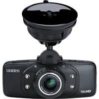 "Uniden Dash Cam Digital Camcorder - 2.7"" LCD - Full HD - Black - 16:9 - 4x Digital Zoom - HDMI - USB - microSD - GPS - Memory Card - Dashboard Mount"