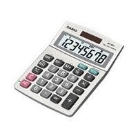 Casio MS-80S-S-IH Desktop Basic Calculator - 8 Digits
