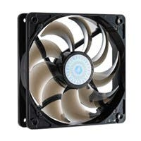 Cooler Master SickleFlow 120 - Sleeve Bearing 120mm Silent Fan for Computer Cases, CPU Coolers, and Radiators (Smoke Color) - Smoke Color, 120x120x25 mm, 2000 RPM, 69 CFM air flow, 19 dBA noise level,
