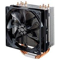 Cooler Master Hyper 212 EVO RR-212E-20PK-R2 Cooling Fan/Heatsink - 1 x 120 mm - 2000 rpm - Long Life Sleeve Bearing - Socket R LGA-2011, Socket B LGA-1366, Socket H LGA-1156, Socket H2 LGA-1155, Socke
