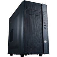 Product image for Cooler Master N200 System Cabinet - Mini-tower - Midnight Black - S...