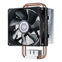 Cooler Master Hyper T2 - Compact CPU Cooler with Dual Looped Direct Contact Heatpipes - 1 x 92 mm - 2800 rpm - 1 x 54.8 CFM - Long Life Sleeve Bearing - Socket H3 LGA-1150, Socket H LGA-1156, Socket H