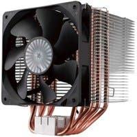 Cooler Master Hyper 612 Ver. 2 RR-H6V2-13PK-R1 Cooling Fan/Heatsink - 1 x 120 mm - 1300 rpm - Rifle Bearing - Socket T LGA-775, Socket H3 LGA-1150, Socket H2 LGA-1155, Socket H LGA-1156, Socket B LGA-