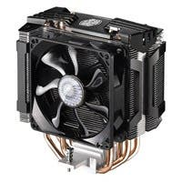 Cooler Master Hyper D92 RR-HD92-28PK-R1 Cooling Fan/Heatsink - 2 x 92 mm - 2800 rpm - 2 x 54.8 CFM - Rifle Bearing - 4-pin PWM - Socket LGA 2011-v3, Socket R LGA-2011, Socket B LGA-1366, Socket H LGA-