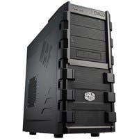 "Cooler Master HAF 912 Computer Case - Mid-tower - Black - Steel, Plastic, Mesh - 12 x Bay - 2 x 4.72"" x Fan(s) Installed - 0 - ATX, Micro ATX Motherboard Supported - 17.79 lb"