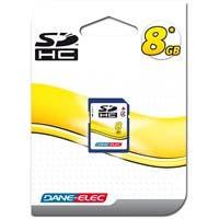 Dane-Elec 8GB Secure Digital High Capacity (SDHC) Card - 8 GB