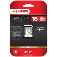 Gigastone 16 GB SDHC - Class 10/UHS-I