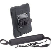Kensington SecureBack K67832WW Carrying Case for iPad - Black - Drop Resistant Interior - Neoprene - Hand Strap, Shoulder Strap
