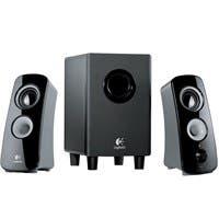 Product image for Logitech Z323 2.1 Speaker System - 30 W RMS - 55 Hz - 20 kHz