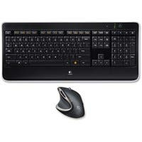 Logitech Wireless Performance Combo MX800 - USB Wireless RF Keyboard - USB Wireless RF Mouse - Laser - 1500 dpi - Scroll Wheel - Compatible with PC