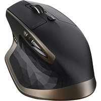 Logitech MX Master Wireless Mouse - Darkfield - Wireless - Radio Frequency - Black - USB - 1000 dpi - Scroll Wheel - 5 Button(s) - Right-handed Only