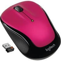 Logitech Wireless Mouse M325 - Optical - Wireless - Radio Frequency - Brilliant Rose - USB - Tilt Wheel