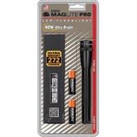 Mini Maglight Pro LED 2-Cell AA Flashlight - AA - Black