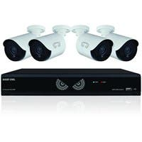 Night Owl Lite B-10HLDA-841-1080 Video Surveillance System - Digital Video Recorder, Camera - 1 TB Hard Drive - 30 Fps - 1080 - Composite Video In - 4 Audio In - 1 Audio Out - 1 VGA Out - HDMI