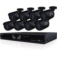 Night Owl Lite B-10LHDA-881-720 Video Surveillance System - Digital Video Recorder, Camera - 1 TB Hard Drive - 30 Fps - 720 - Composite Video In - 4 Audio In - 1 Audio Out - 1 VGA Out - HDMI