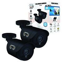 Night Owl CM-HDA7B-BU 1 Megapixel Surveillance Camera - 2 Pack - Color - 100 ft - 1280 x 7203.60 mm - Bullet