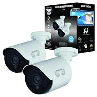 Night Owl CM-HDA10W-BU 2 Megapixel Surveillance Camera - 2 Pack - Color - 100 ft - 1920 x 10803.60 mm - Bullet