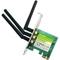 TP-LINK TL-WDN4800 Dual Band Wireless N900 PCI Express Adapter,2.4GHz 450Mbps/5Ghz 450Mbps, Include Low-profile Bracket - PCI Express x1 - 450 Mbps - 2.48 GHz ISM - 5.83 GHz UNII - Internal