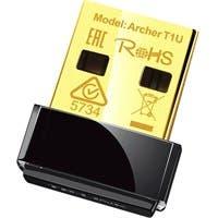 TP-LINK Archer T1U IEEE 802.11ac - Wi-Fi Adapter for Desktop Computer/Notebook - USB 2.0 - 450 Mbit/s - 5 GHz UNII - External