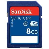 SanDisk SDSDB-008G-B35 8 GB SDHC - Class 4 - 1 Card