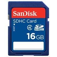 SanDisk SDSDB-016G-B35 16 GB SDHC - Class 4 - 1 Card