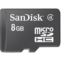 SanDisk 8 GB microSDHC - Class 4 - 1 Card