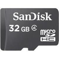 SanDisk 32 GB microSDHC - Class 4 - 1 Card