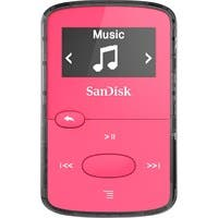 SanDisk SDMX26-008G-G46P 8 GB Flash MP3 Player - FM Tuner - Battery Built-in - microSD - AAC, MP3, WMA, WAV, Ogg Vorbis, Audible, FLAC - 18 Hour