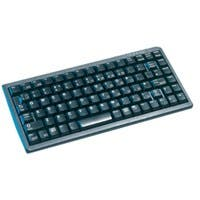 Cherry Ultraslim G84-4100 POS Keyboard - 83 Keys - USB, PS/2 - Black