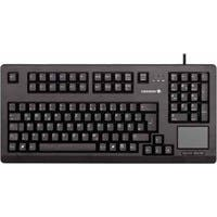 Cherry G80-11900 Series Compact Keyboard - USB - QWERTY - 104 Keys - Black - English (US)