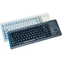 Cherry G84-4420 Compact Keyboard - USB - 83 Keys - Light Gray - English (US)