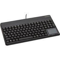 Cherry G86-6240 POS Keyboard - 109 Keys - USB - Light Gray