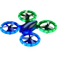 Odyssey Toys X-7 Micro-Lite - 6-axis Radio Controlled Aircraft - 2.4 GHZ - Gyro System - LED Lights - Indoor or Outdoor