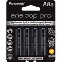 Panasonic eneloop Pro General Purpose Battery - 8 / Pack