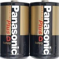 Panasonic D-Size Alkaline Plus Battery Pack - Alkaline