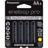 Panasonic eneloop Pro General Purpose Battery - 4 / Pack