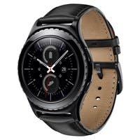 Samsung Gear S2 classic Smart Watch - Wrist - Accelerometer, Gyro Sensor, Ambient Light Sensor, Barometer, Optical Heart Rate Sensor - Calendar, Text Messaging, Email - Steps Taken - ARM Cortex A71 GH