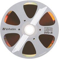 Verbatim DVD+R 4.7GB 8X with DigitalMovie Surface - 10pk Bulk Box - TAA Compliant - 120mm - 2 Hour Maximum Recording Time