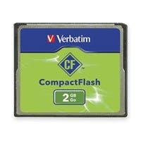 Verbatim 2GB CompactFlash Memory Card - TAA Compliant - 1 Card/1 Pack