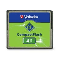 Verbatim 4GB CompactFlash Memory Card - TAA Compliant - 1 Card/1 Pack
