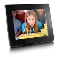 "Aluratek ADMPF108F Digital Photo Frame - Photo Viewer, Audio Player, Video Player - 8"" Active Matrix TFT Color LCD"