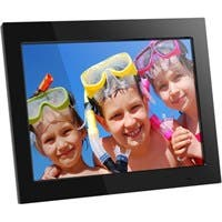 "Aluratek ADMPF315F Hi-Res Digital Photo Frame - Photo Viewer, Audio Player, Video Player - 15"" TFT LCD"
