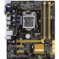 Asus B85M-G R2.0 Desktop Motherboard - Intel B85 Express Chipset - Socket H3 LGA-1150 - Micro ATX - 1 x Processor Support - 32 GB DDR3 SDRAM Maximum RAM - 1.60 GHz Memory Speed Supported - 4 x Memory